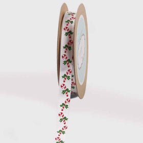 Ribbon - White candy cane-STATIONERY-PropShop24.com