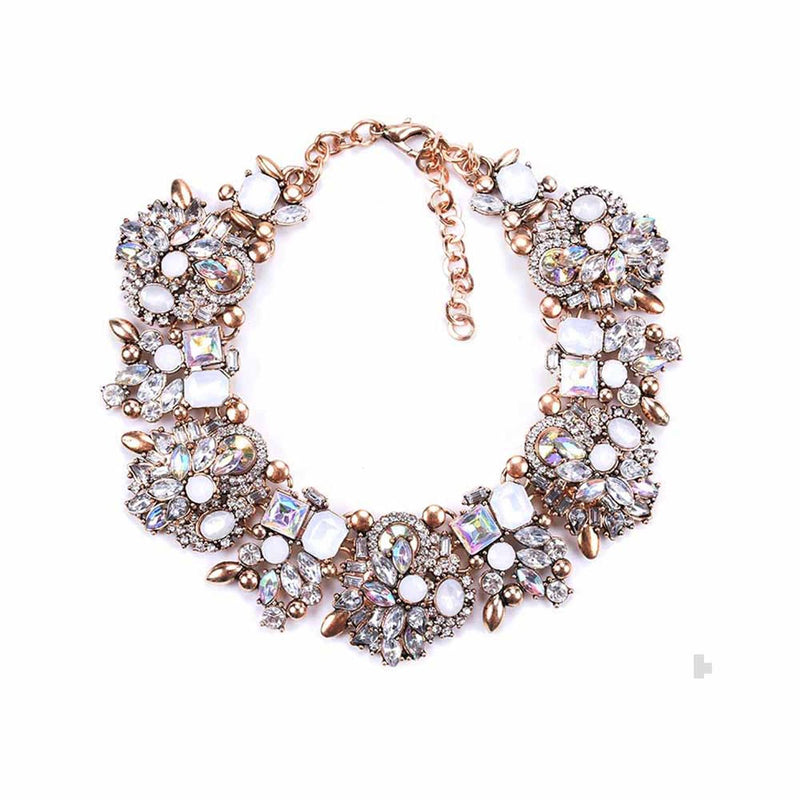 Charish Statement Choker Neckpiece-NECKLACE-PropShop24.com