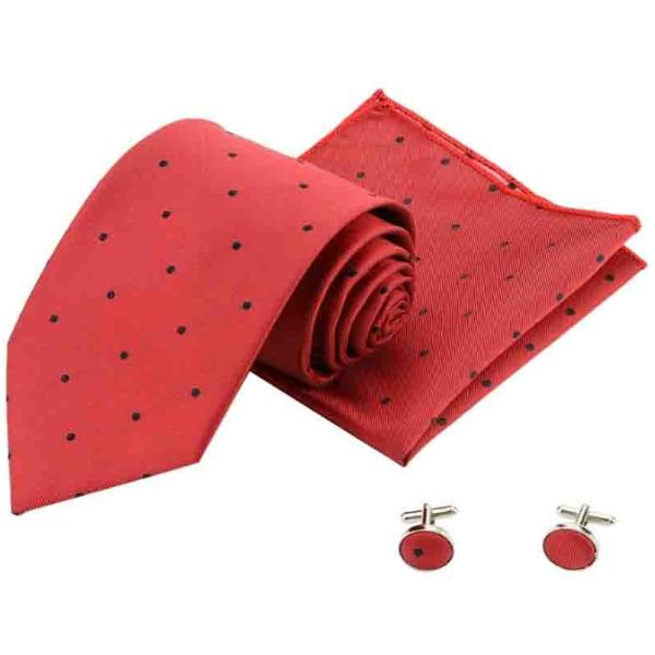 Cherry Polka Dots Tie Set-FASHION-PropShop24.com