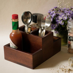 Wooden Condiment Stand - Small-DINING + KITCHEN-PropShop24.com
