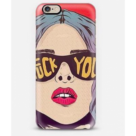 phone cover - pop art fuck you-Gadgets-PropShop24.com