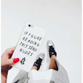 Phone Cover - Send Nudes - iPhone 5 or 5S-Gadgets-PropShop24.com