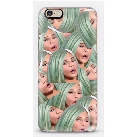 phone cover - kylie - green hair-Gadgets-PropShop24.com