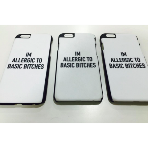 phone cover - Allergic to Basic Bitches-Gadgets-PropShop24.com