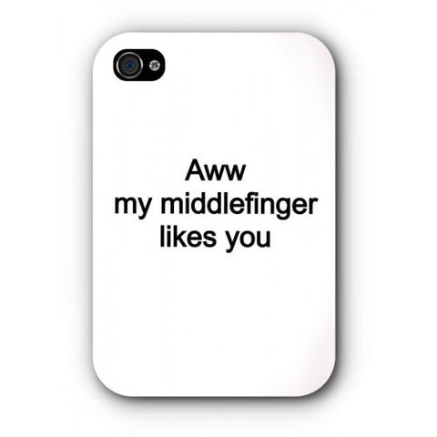 phone cover - Aww my middlefinger-Gadgets-PropShop24.com