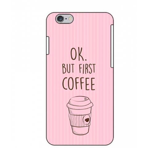 phone cover - But first coffee - pink-Gadgets-PropShop24.com