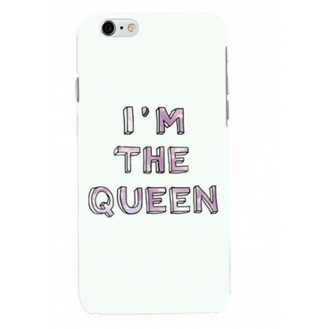 phone cover - I'm the queen-Gadgets-PropShop24.com