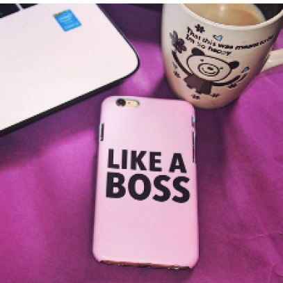 phone cover - like a boss-Gadgets-PropShop24.com