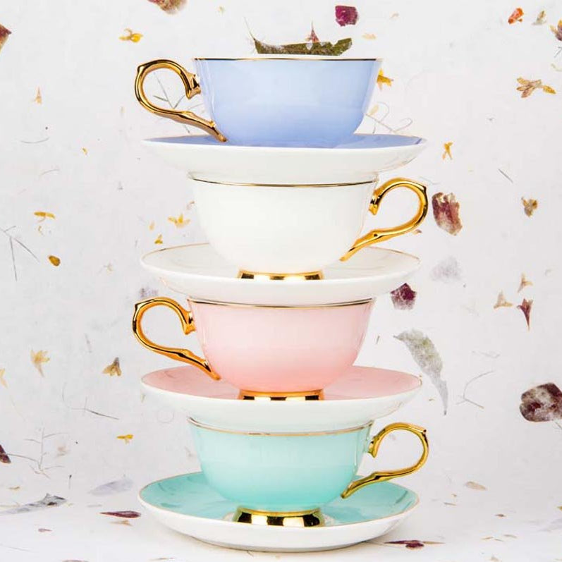 Cup And Saucers - English Ecstasy-DINING + KITCHEN-PropShop24.com