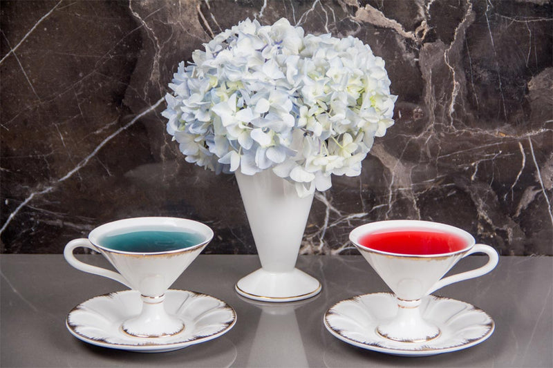 Cup And Saucers - Enchanted Chalice-DINING + KITCHEN-PropShop24.com