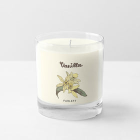 Candle - Vanilla by FL-HOME-PropShop24.com