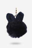Bunny-Ear Fur Ball - Navy Blue-PERSONAL-PropShop24.com