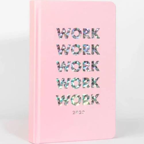 2020 Classic 12 Month Planner - Work Work Work-NOTEBOOKS + PLANNERS-PropShop24.com