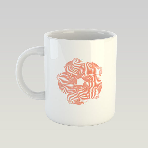 Coffee Mug - Flower Pattern-HOME-PropShop24.com