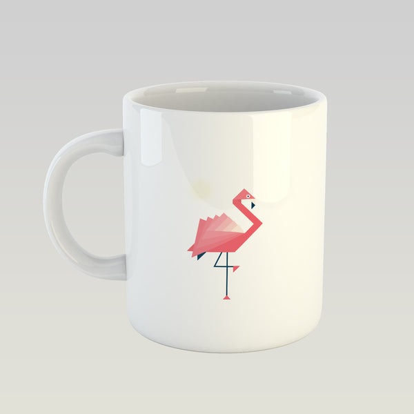 Coffee Mug - Geometric Flamingo-HOME-PropShop24.com