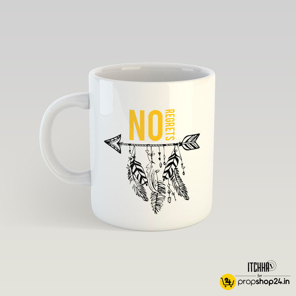 Coffee Mug - No Regrets-Coffee Mugs-PropShop24.com