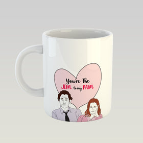 Coffee Mug - Jim To My Pam-HOME-PropShop24.com