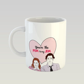 Coffee Mug - Pam To My jim-HOME-PropShop24.com