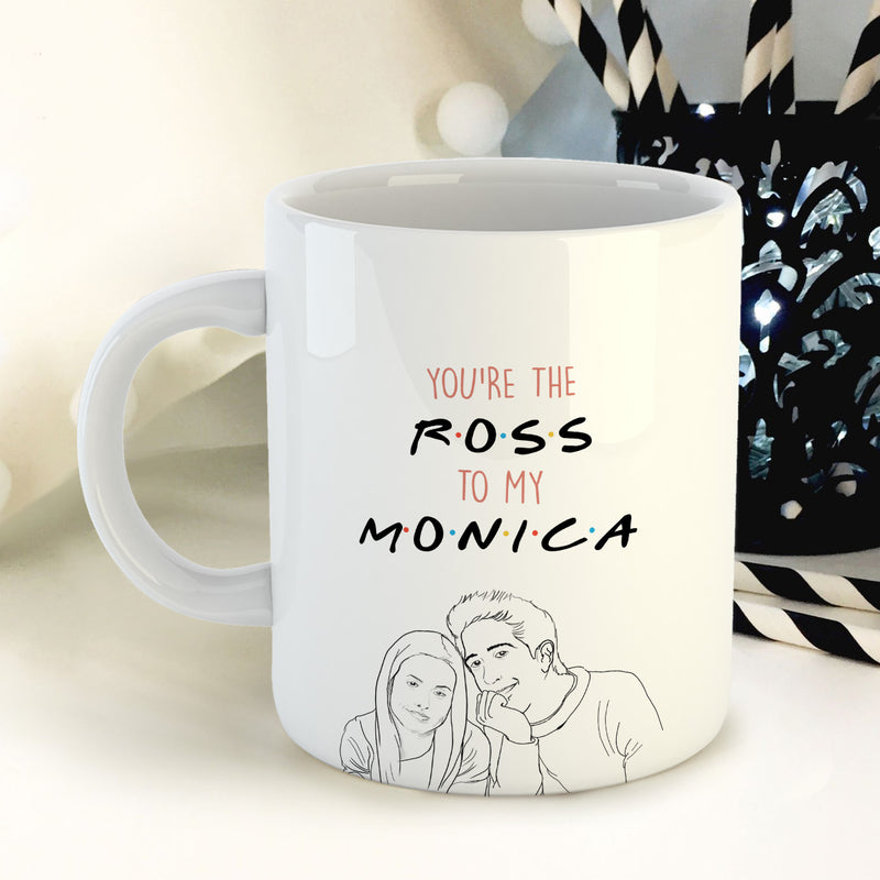 Coffee Mug - Ross And Monica-DINING + KITCHEN-PropShop24.com