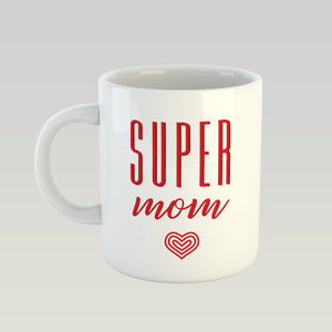 Coffee Mug - Super Mom-DINING + KITCHEN-PropShop24.com