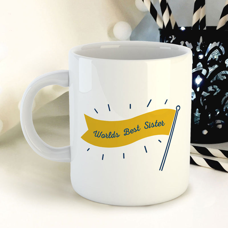 Coffee Mug - Worlds Best Sister-DINING + KITCHEN-PropShop24.com