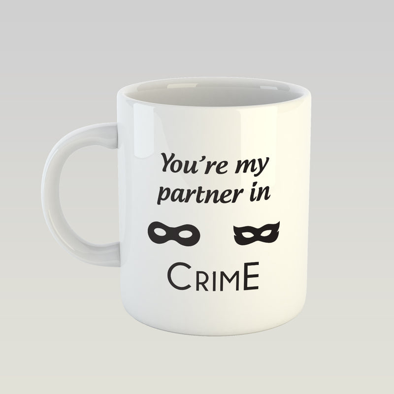Coffee Mug - My Partner In Crime-DINING + KITCHEN-PropShop24.com