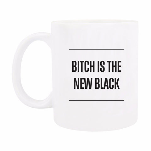 Coffee Mug - Bitch is the new black-PropShop24.com