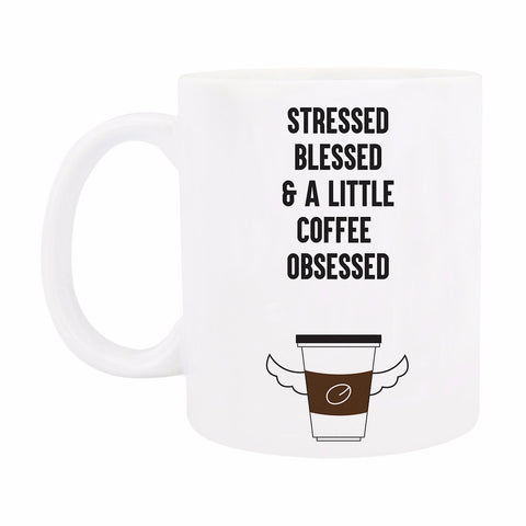 Coffee Mug - Coffee Obsessed-Home-PropShop24.com