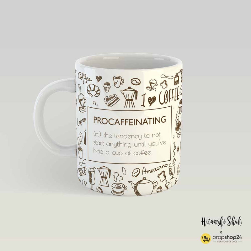 Coffee Mug - Procaffeinating-DINING + KITCHEN-PropShop24.com
