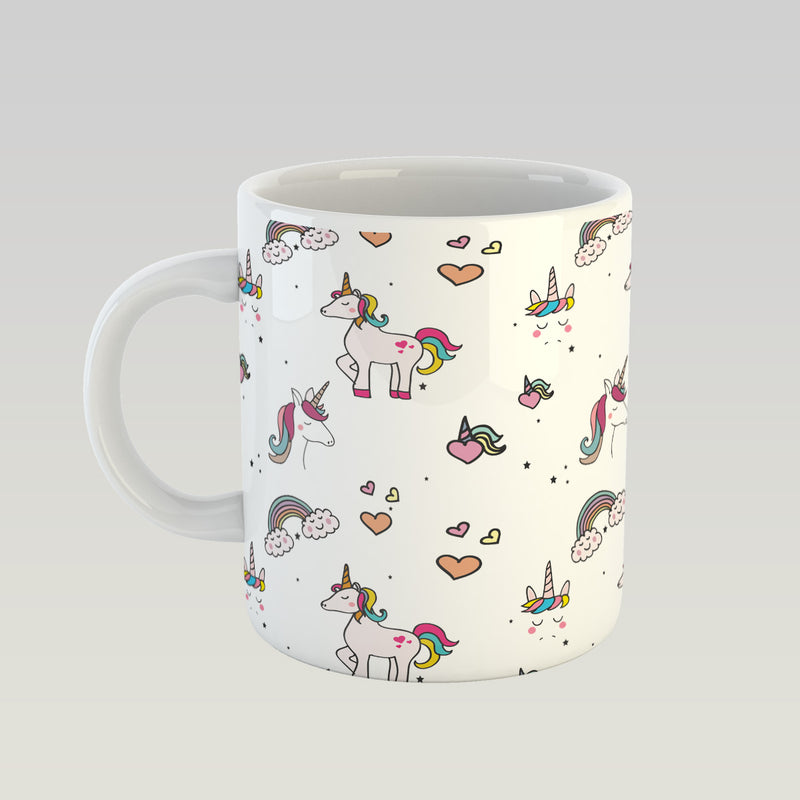 Coffee Mug - Unicorn Pattern-DINING + KITCHEN-PropShop24.com