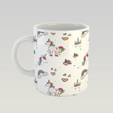Coffee Mug - Unicorn Pattern-HOME-PropShop24.com