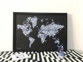 Mini Magnet Boards - Map-HOME ACCESSORIES-PropShop24.com