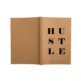 Notebook - Hustle- Blank Pages-Stationery-PropShop24.com