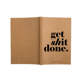 Get Done Notebook- Blank Pages-Stationery-PropShop24.com