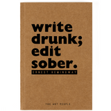 Write Drunk Notebook- Blank Pages-Stationery-PropShop24.com