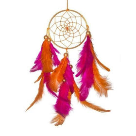 Dreamcatcher - orange and pink hanging-HOME-PropShop24.com
