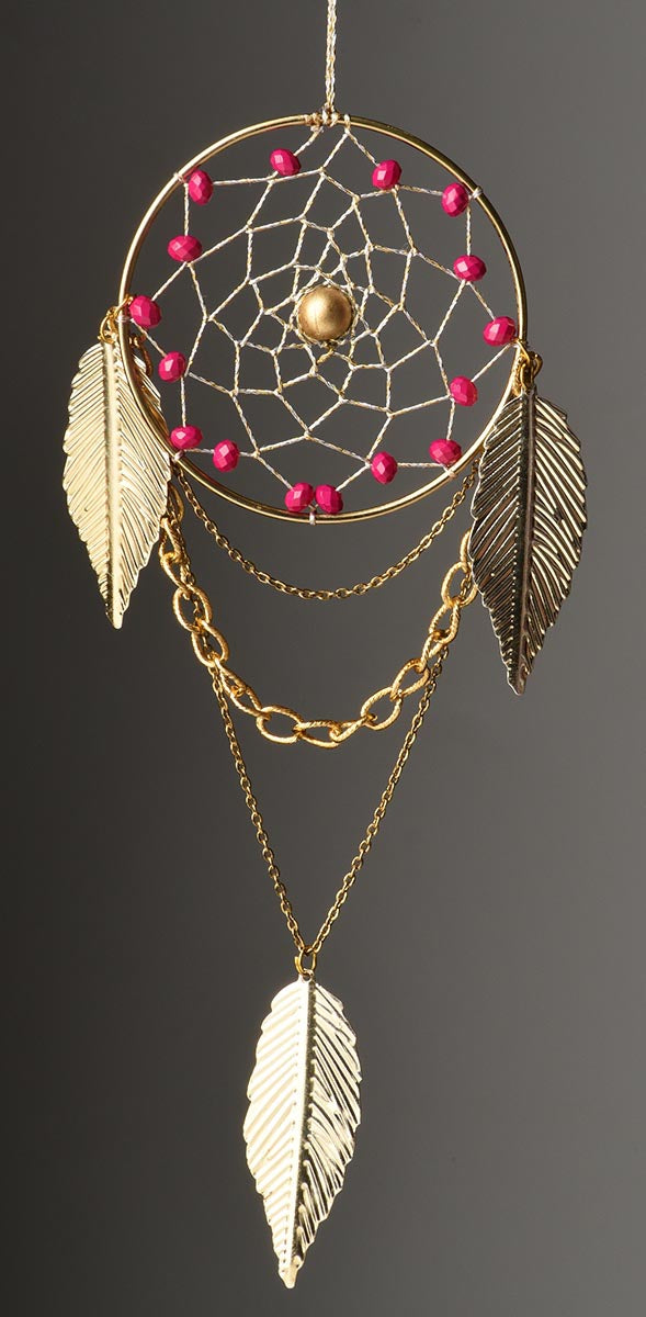 Dreamcatcher - Vegan Pink-HOME ACCESSORIES-PropShop24.com