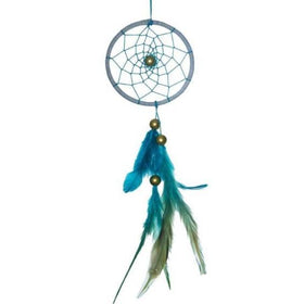 Dreamcatcher - White And Blue Weave-HOME ACCESSORIES-PropShop24.com