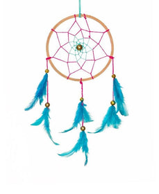 Dreamcatcher - wooden threads pink-HOME-PropShop24.com
