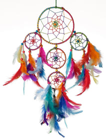 Dreamcatcher - Multi Colour 4 Tier-HOME-PropShop24.com