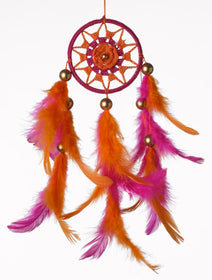 Dreamcatcher - Orange Flower Car Hanging-HOME-PropShop24.com