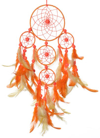 Dream Catcher - Yellow And Orange Tier-HOME ACCESSORIES-PropShop24.com
