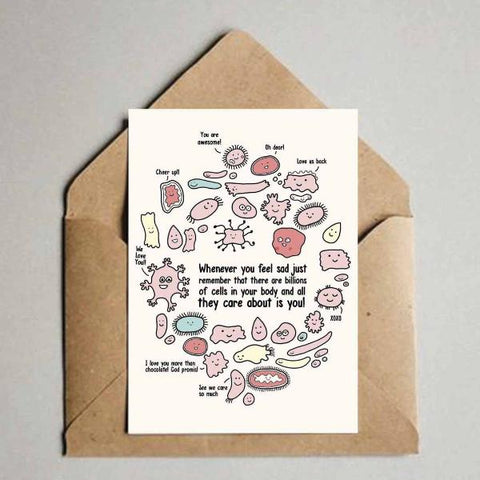 Greeting Card - Whenever you feel sad-Stationery-PropShop24.com