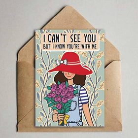 Greeting Card - I Can't See you-Stationery-PropShop24.com
