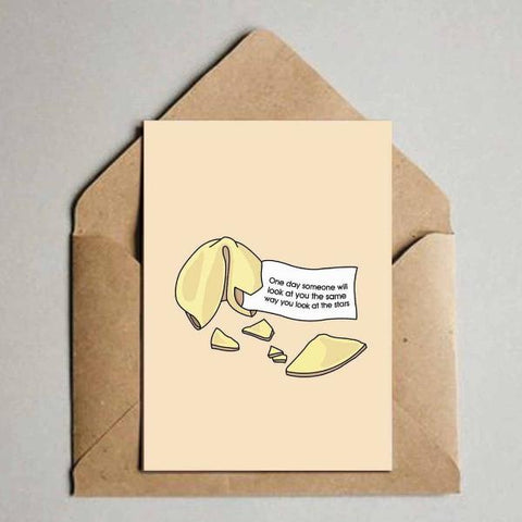 Greeting Card - Fortune Cookie-Stationery-PropShop24.com