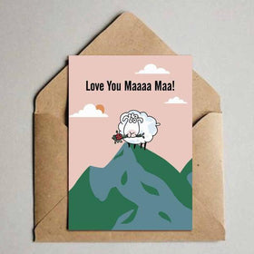 Greeting Card - Love You Maaa Maa-Stationery-PropShop24.com