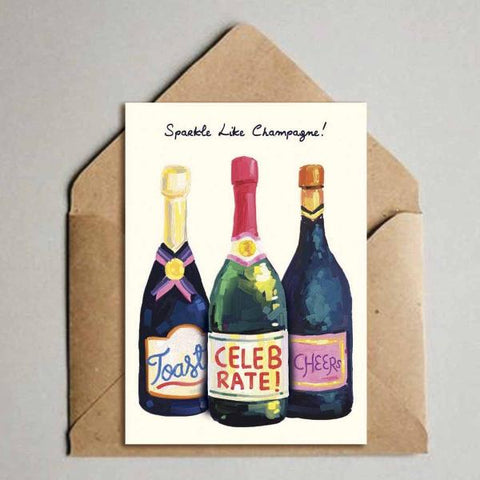 Greeting Card - Sparkle Like - Champagne-Stationery-PropShop24.com
