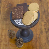 Black Small Cake Stand-HOME-PropShop24.com