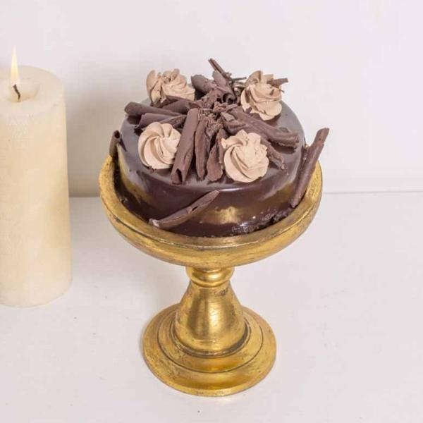 Gold Small Cake Stand-HOME-PropShop24.com