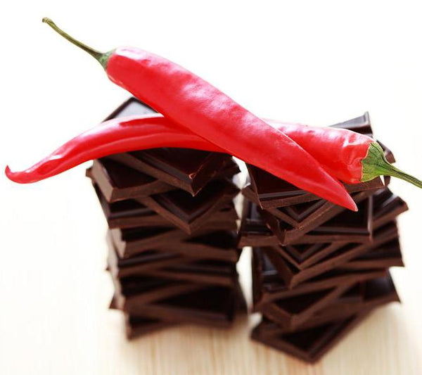 57% Dark Chocolate with Chilli & Cinnamon - 100g - Didier & Frank-FOOD-PropShop24.com